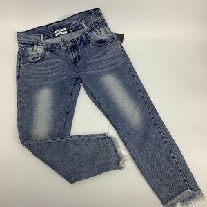 One Teaspoon Freebird Womens 19934 Jeans Skinny 30